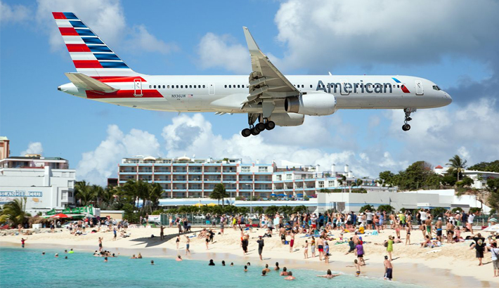 American Airlines flights to St Maarten