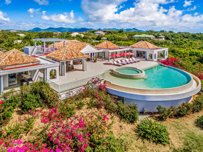 St Martin Luxury Villa Long Bay 16