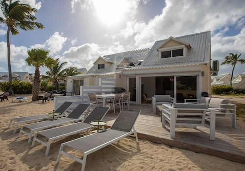 Luxury Beachfront Condo St Martin Rental