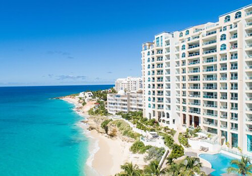Oasis at the Cliff Cupecoy Condo luxury rental St Maarten
