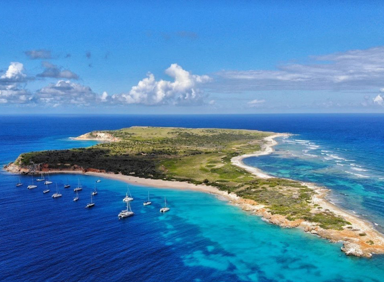 Day Trip to Tintemarre from St Maarten
